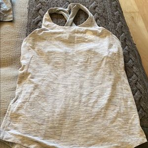 Lululemon for soul cycle built in bra top sz 10